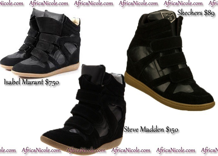 Same Look, Any Budget: Wedge Sneakers