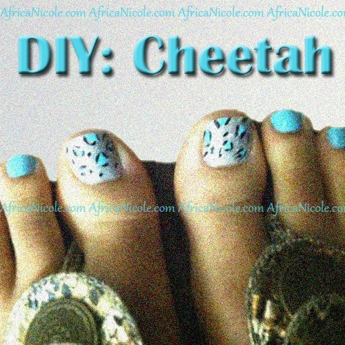 Diy cheetah nails africa nicole you know me by now im a do it yourself ballin on a budget kind of gal spring is here toes are out check out this simple grid to make your own cheetah solutioingenieria Choice Image